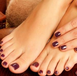 Pedicure + Manicure gelish